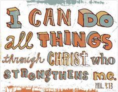 Philippians 4:13 ~ Road to Emmaus