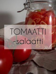 Raikas tomaattisalaatti   Aitoa arkiruokaa