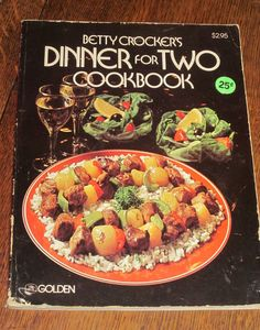 Dinner for Two Cookbook by Betty Crocker Vintage by HobbitHouse