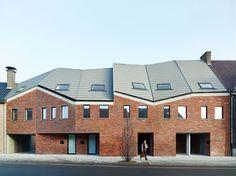 ampe.trybou architecten, Dennis De Smet · Low Energy Social Housing