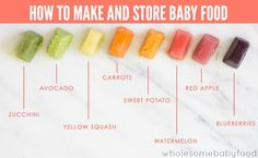 Pureeing and storing your own baby food is easy! Find out how with our easy tutorials.