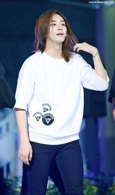 Jeonghan Seventeen, Long Brown Hair, Wonwoo, Diva, Handsome, Graphic Sweatshirt, Kpop, Long Hair Styles, Guys