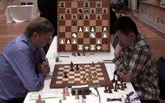 Wei Yi vs Alexei Shirov (1-0)!   Reportaje: http://chesslive.com/blog/2013/08/16/wei-yi-ajedrez/