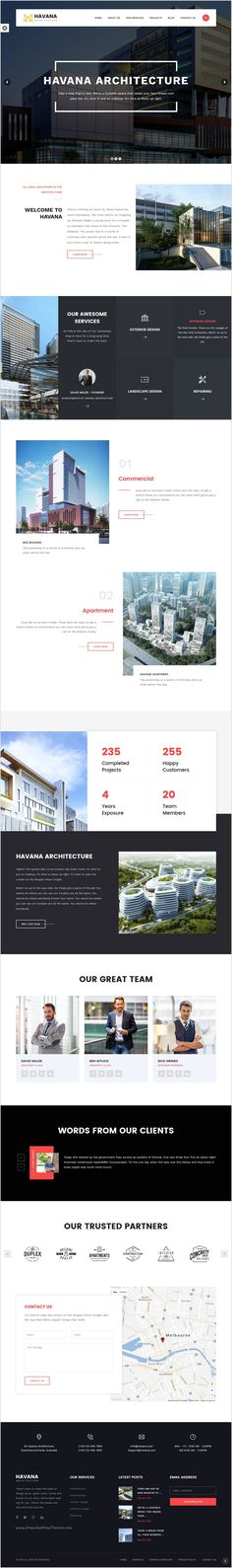 Havana is a clean, #minimal and stylish design responsive 3 in 1 #WordPress #theme perfect for architect and #interior design studio websites download now➩ https://themeforest.net/item/havana-architecture-interior-and-design-wordpress-theme/18047187?ref=Datasata