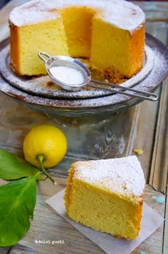 Flussuosa al limone
