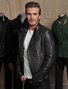 David Beckham for Belstaff: video, ELLEuk.com Available at www.BritishMotorc...