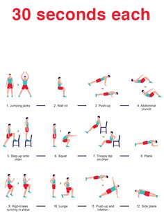 6 minute work out. Maybe do multiple times?