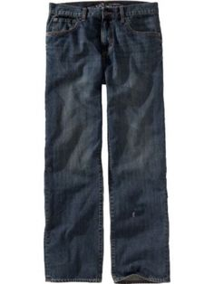Men's Old Navy Boot-Cut Straight Fit Blue Jeans Sz 33W 30L NWT