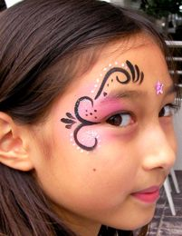 Face-painting - Fantasy eye