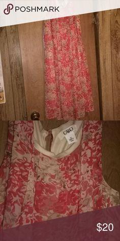 Cato  dress Summertime flower dress Dresses Mini
