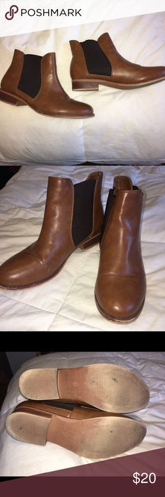 Pacsun Black Poppy brown booties Brown booties, worn a few times, in great condition, a few scuff marks. PacSun Shoes Ankle Boots & Booties