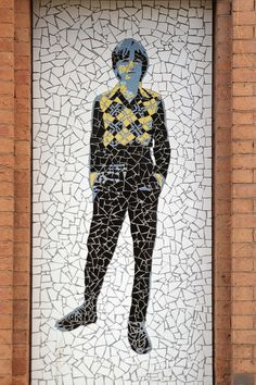 Manchester Affleck's Palace mosaic - Mark E Smith