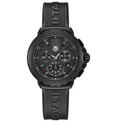 Tag heuer formula 1 rubber strap with chronograph