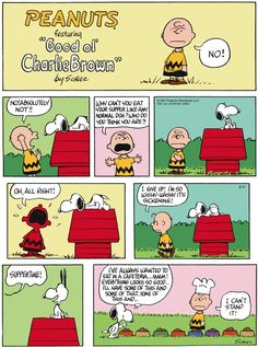 """Schulz's classic """"Peanuts"""" looks at the lives of Charlie Brown, Snoopy, and other favorite characters. Snoopy Cartoon, Snoopy Comics, Peanuts Cartoon, Peanuts Snoopy, Peanuts Comics, Charlie Brown Comics, Charlie Brown And Snoopy, Snoopy Love, Snoopy And Woodstock"""