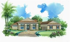 Hawthorne New Home Plan in The Verandah: Arlington Oaks by Lennar