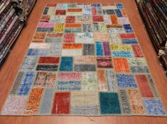 Free Shipping Turkish Anatolian Vintage Over dyed by SILKROADRUGS