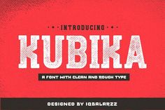 Kubika Slab Serif by Heybrinc Studio on @creativemarket