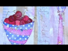 Priscilla has been producing contemporary stitched mixed media pieces in 2D and 3D since completing her degree in Embroidery at Manchester Metropolitan University in 1997.Priscilla draws her inspiration from a variety of sources expl