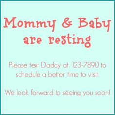 New Baby Sign for the front door.  Blogpost - My Biggest Birth Plan Regret // CanDoKiddo.com