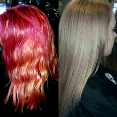 Color Correction: Botched Ombre to Platinum Perfection - Hair ...