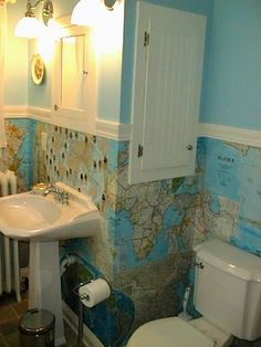 Ashbee Design: Wallpapering with Maps
