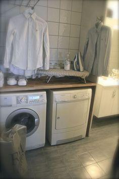 VillaPaprika - Bathroom Organisation, Reno, Interior Inspiration, Laundry Room, Kitchen Decor, Home Appliances, Camilla, Interior Design, Norway
