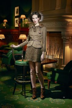 John Galliano for The House of Dior,  Pre-Fall Collection 2011