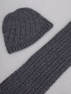 Sjaal en muts (gratis patroon + link) / scarf and hat (free pattern + link)