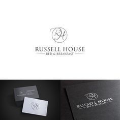 Create Bed and Breakfast illustration logo for Russell House in Maine!! by inur@i91