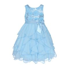 835808d5565 American Princess Sleeveless Sequin Soutache Dress – Girls 2t-4t found at   JCPenney Toddler