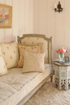 soothing pink room