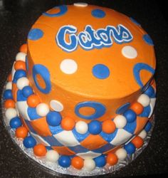 Florida Gators Cake  #UltimateTailgate #Fanatics