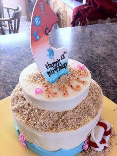 soul surfer birthday cake | Soul Surfer cake