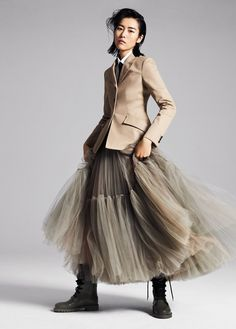 Liu Wen by Phil Poynter for InStyle US November 2018 - # for .Liu Wen by Phil Poynter for InStyle US November 2018 - # for Lara- A Fashion Mode, Star Fashion, Look Fashion, Autumn Fashion, Fashion Outfits, Womens Fashion, Fashion Trends, Dress Fashion, Woman Outfits