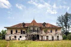 """Santo Tomé- Casa principal de la roça """"Boa Entrada"""""""