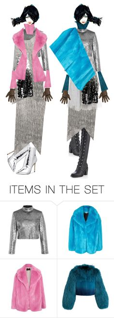 """Two by Two"" by diannecollier ❤ liked on Polyvore featuring art"