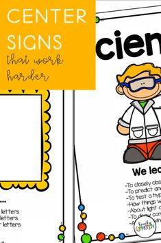 Do you need center signs for your play-based classroom that work harder for you? These center labels also serve as a tool to educate visitors to your preschool or pre-k classroom. Preschool Centers, Preschool Classroom, Play Based Learning, Learning Centers, Classroom Organization, Organization Ideas, Center Labels, Child Teaching, Center Signs