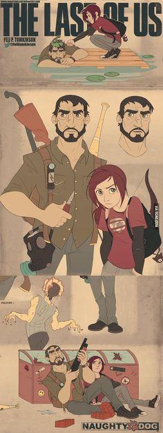 Dios mío, me encanta tanto el diseño de personajes como el estilo, es perfecto