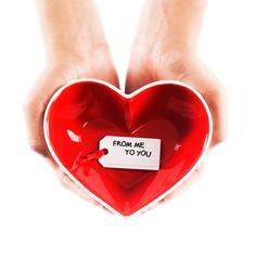 Heart-Shaped Bowls - Set of 2 | dotandbo.com