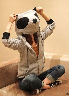 Panda Head Jacket