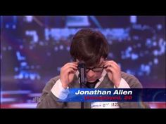 ▶ Most Emotional Audition Ever!! Jonathan Allen, Americas Got Talent - YouTube