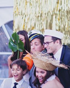 All-things nautical photo booth props