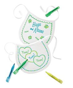 Decorate-a-Bib Baby Shower Game