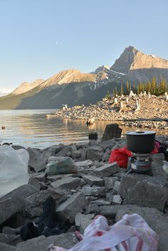 Backpacking to The Point Campground, Peter Lougheed Provincial Park : Play Outside Guide