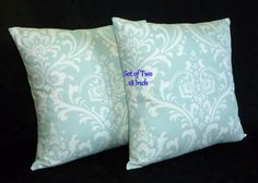 Decorative Throw Pillows Pillow Covers  18 Inch Set of by berly731, $32.00