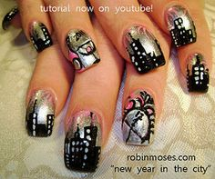 24 best new year nail art pictures and tutorials images