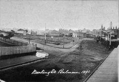 Darling Street Balmain  1891, State Library, NSW