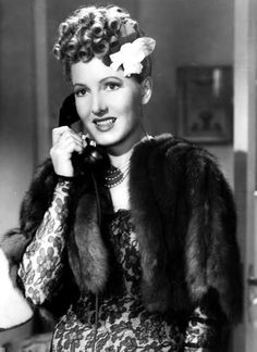 Jean Arthur as miss Milligan
