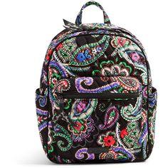 Vera Bradley Leighton Backpack in Kiev Paisley ($88) ❤ liked on Polyvore featuring bags, backpacks, kiev paisley, paisley backpack, multi colored backpacks, zip bag, lightweight rucksack and paisley bag