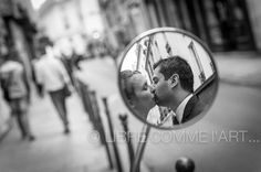 #love in wing mirror